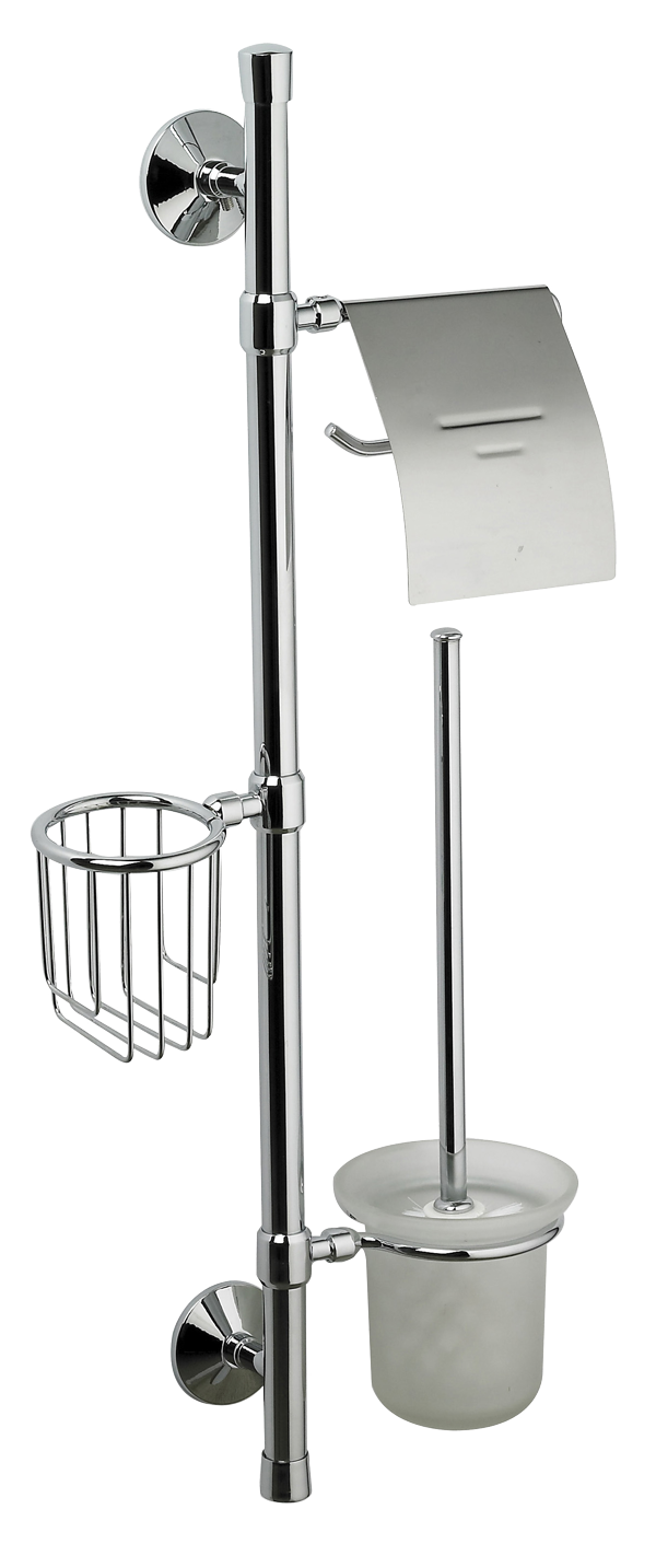 Badstuber Universe toilet accessoires set chroom