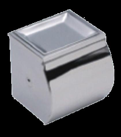 Badstuber Universe wc-rolhouder met asbak chroom