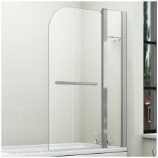 Badstuber Well badscherm 2-delig 140x110cm draaibaar