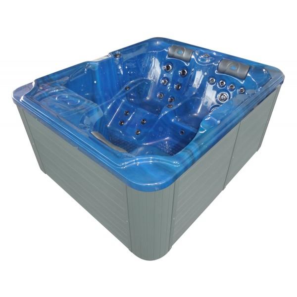 Productafbeelding van Badstuber Oasis outdoor whirlpool 3-persoons blauw