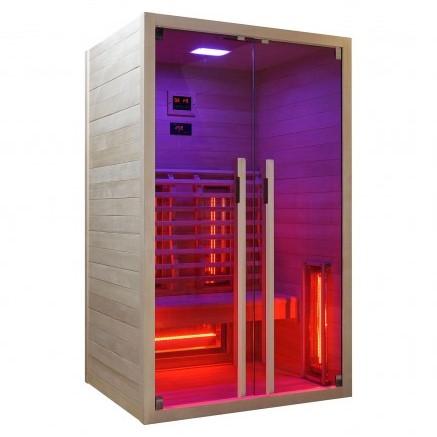 Productafbeelding van Badstuber Ruby infrarood sauna 120x100cm 2 persoons