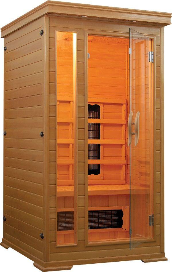 Productafbeelding van Badstuber Punto infrarood sauna 90x90cm 1 persoons