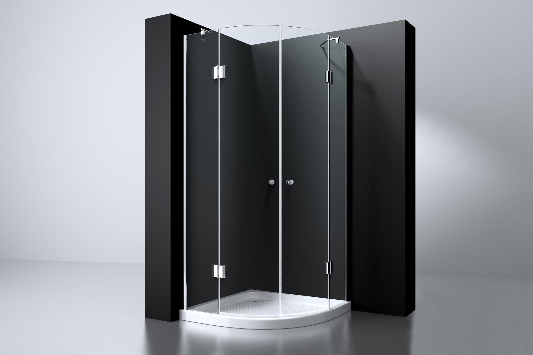 Best Design Arek kwartronde douchecabine 100x100cm ANTI-KALK