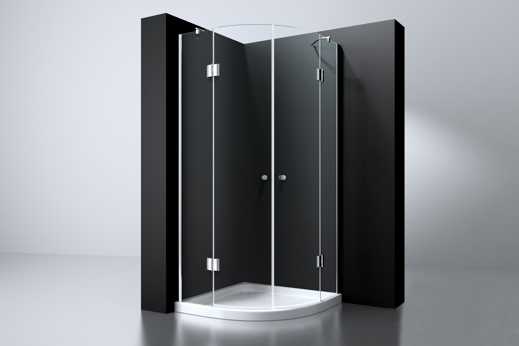 Best Design Arek kwartronde douchecabine 90x90cm ANTI-KALK