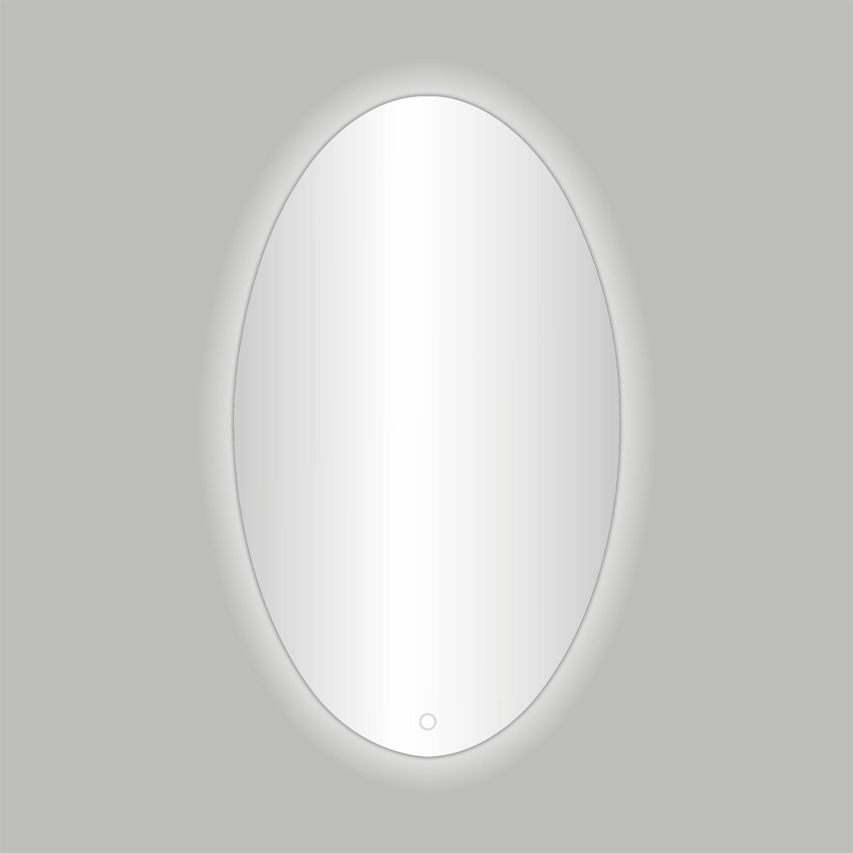 Badkamerspiegel Best Design Divo-60 LED Verlichting 60x80 cm Ovaal