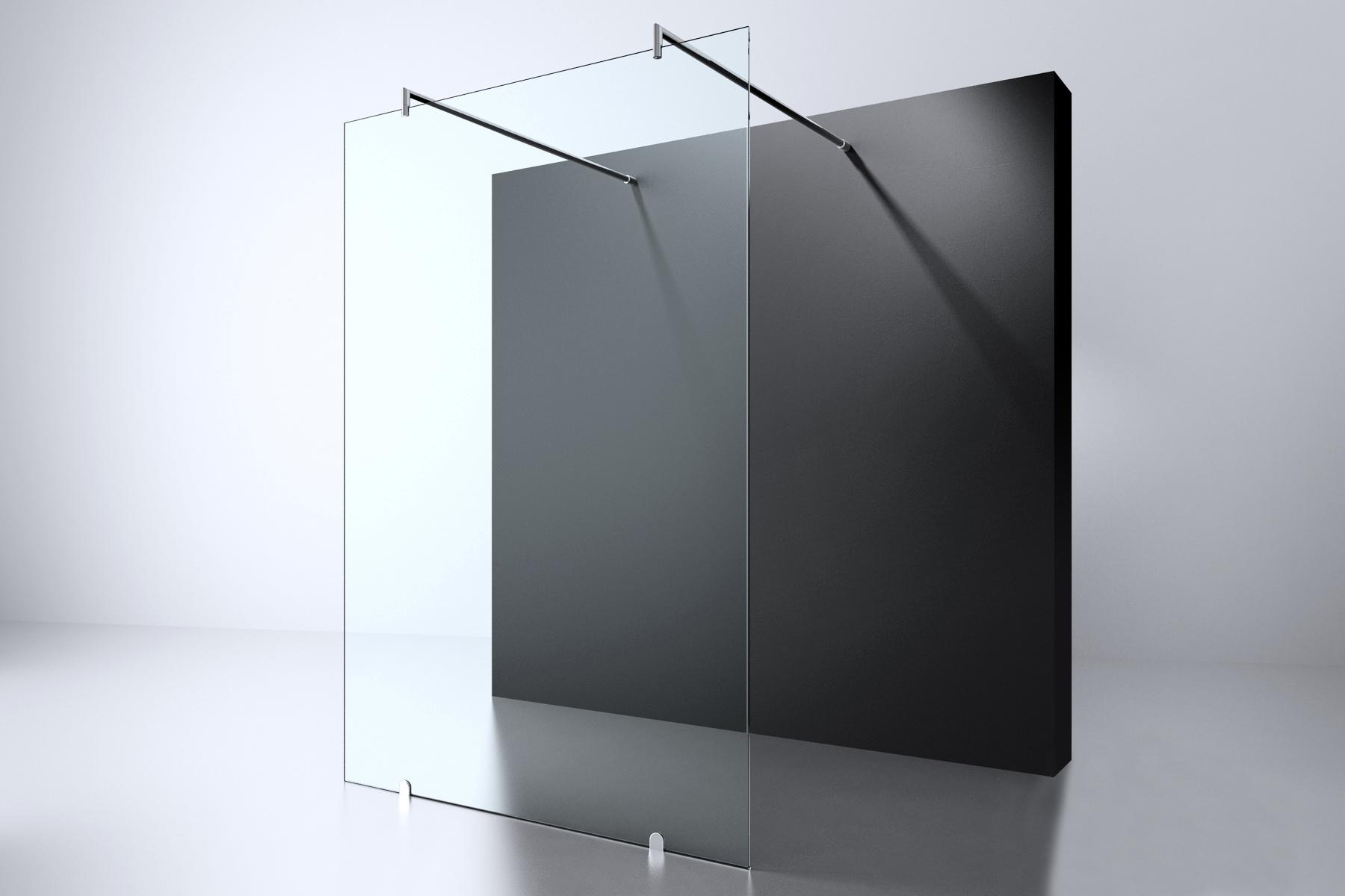 Best Design Erico vrijstaande douchewand 120x200cm ANTI-KALK