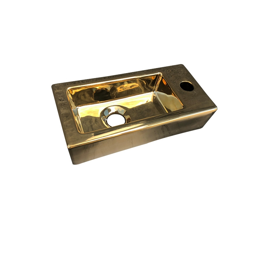 Best Design Farnetta 37x18x9cm glans goud