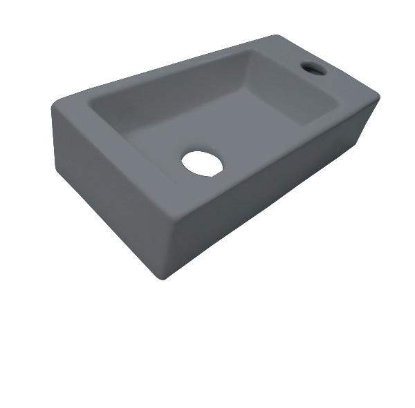 Best Design Farnetta 37x18x9cm mat grijs