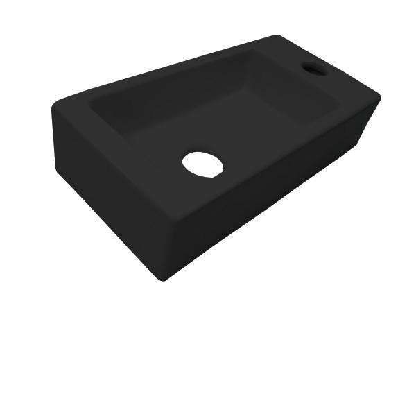 Best Design Farnetta 37x18x9cm mat zwart