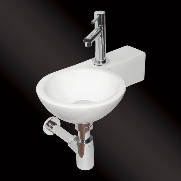 Best Design fonteinset Step kraangat rechts 38x23cm