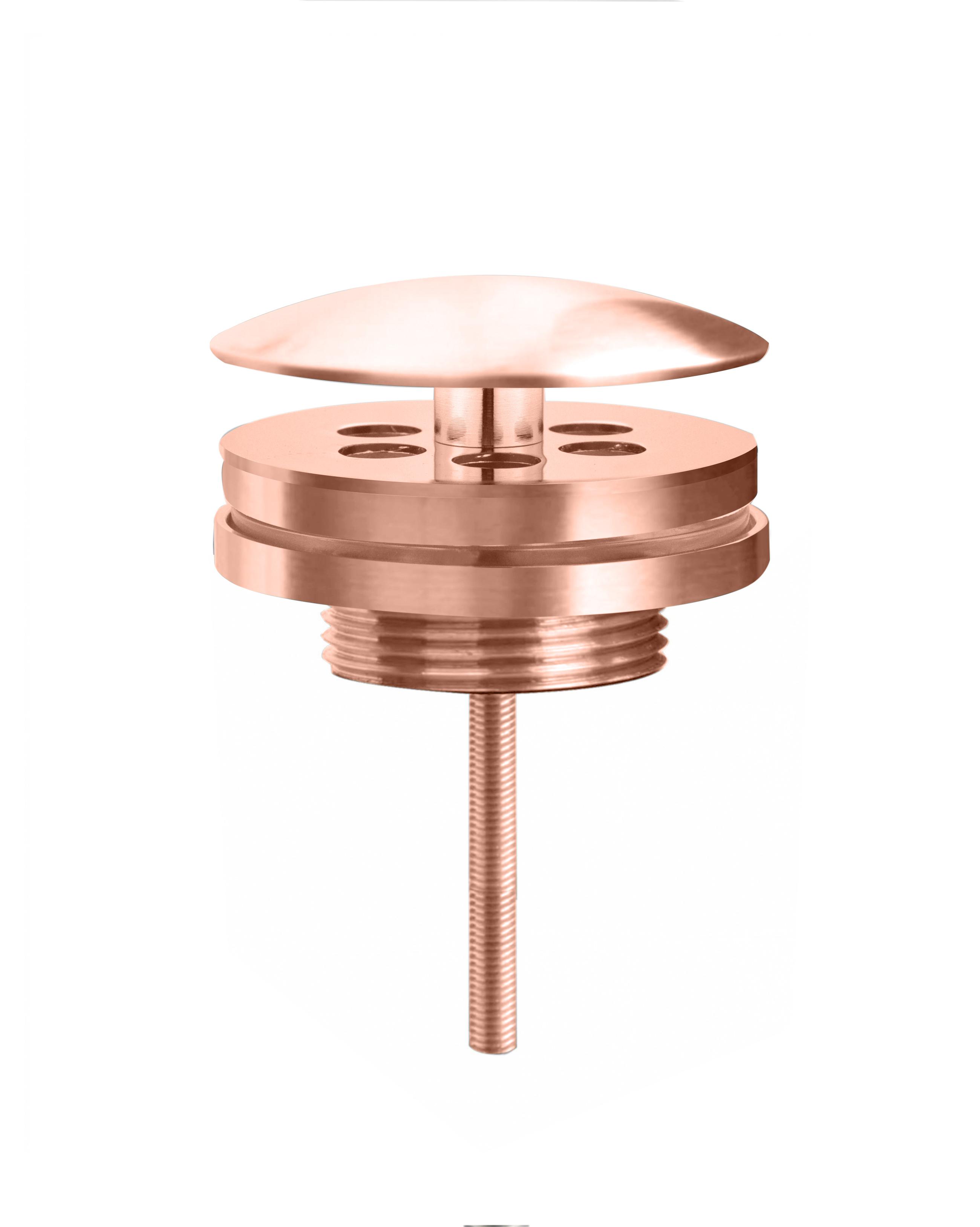 Best Design Lyon lage fontein afvoerplug Ros� goud
