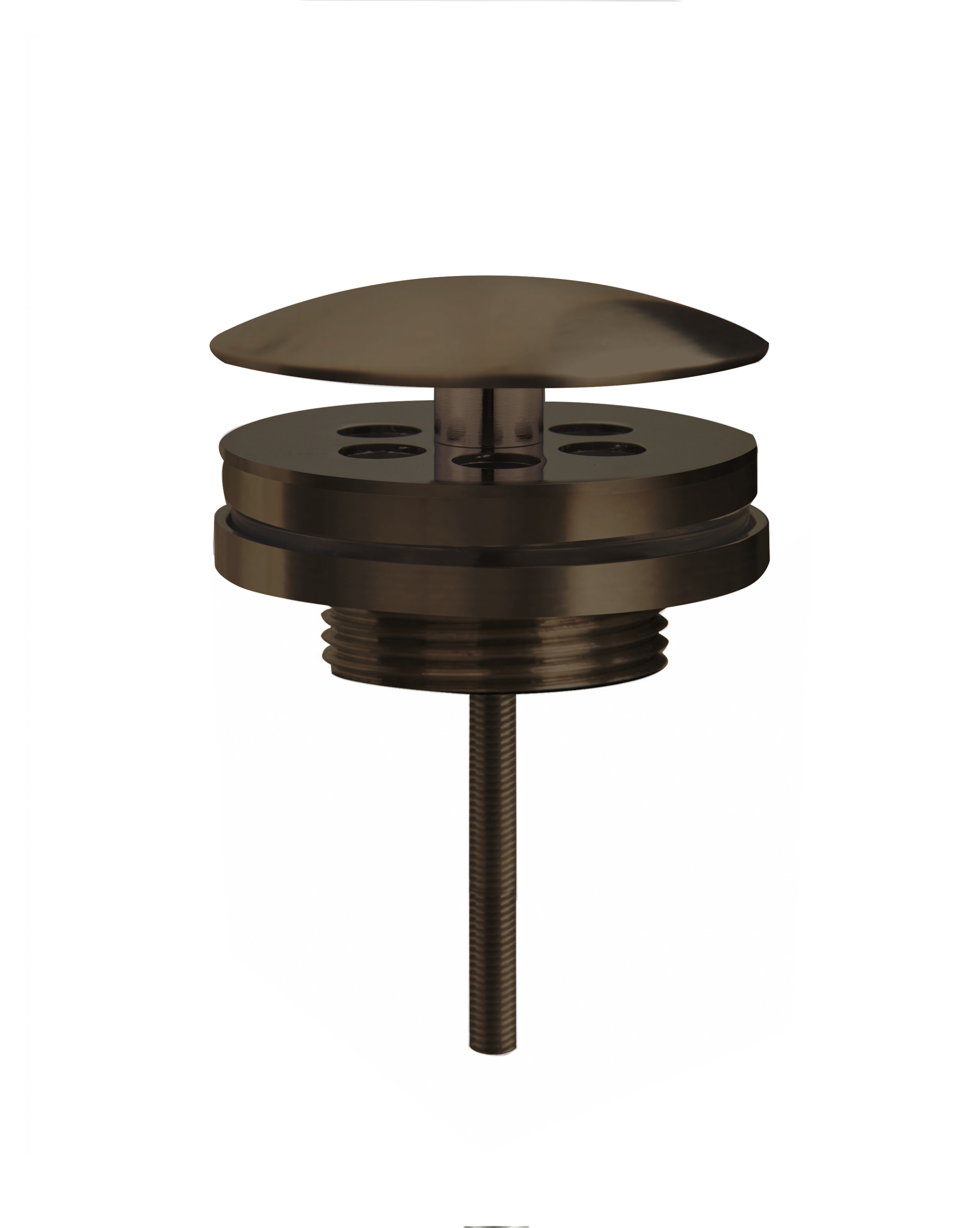 Best Design Moya lage fontein afvoerplug Gunmetal verouderd ijzer