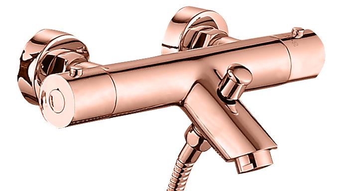 Best Design Lyon badkraan ros�-goud
