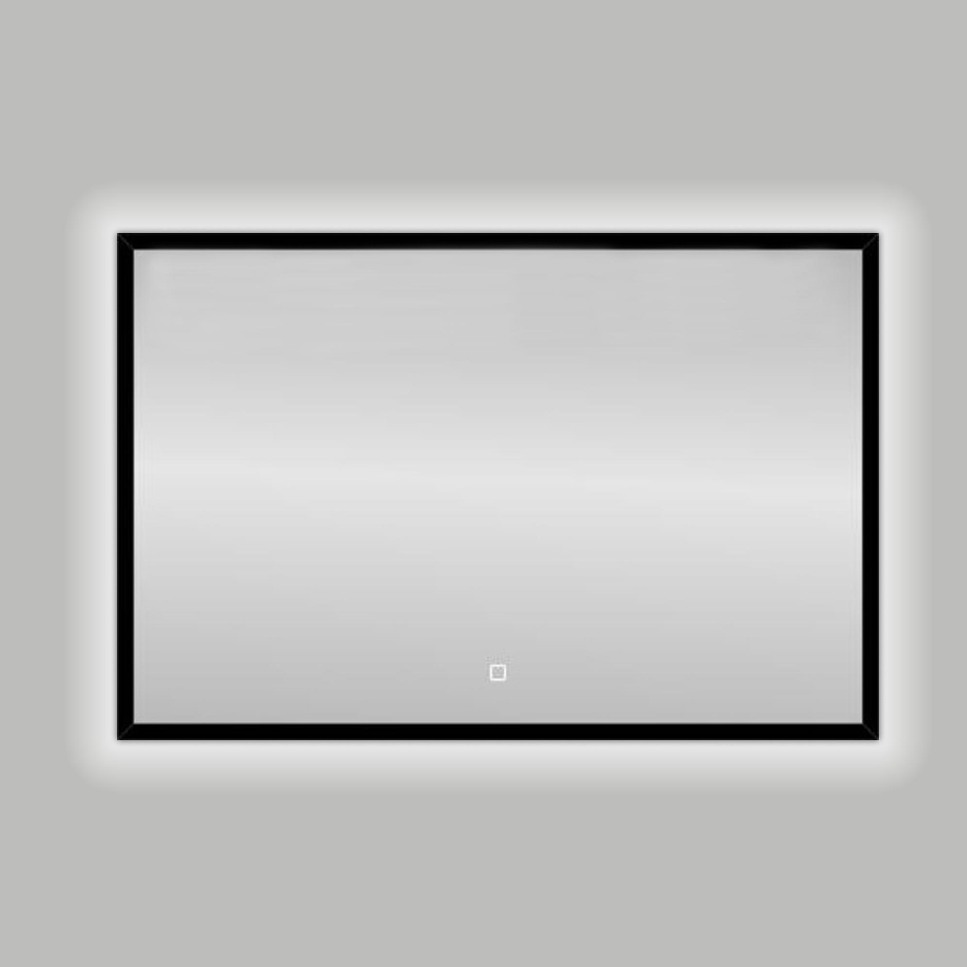SHOWMODEL: Best Design Nero Solaro spiegel met LED en touchbediening 100x80cm
