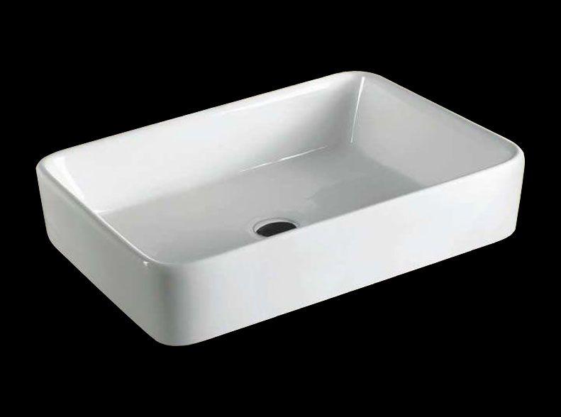 Badkamer accessoires wastafels - Wastafel rechthoekig badkamer ...