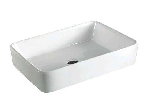 Badkamer accessoires best design opbouw wastafel vlak 60x40x11cm - Bijvoorbeeld vlak badkamer ...