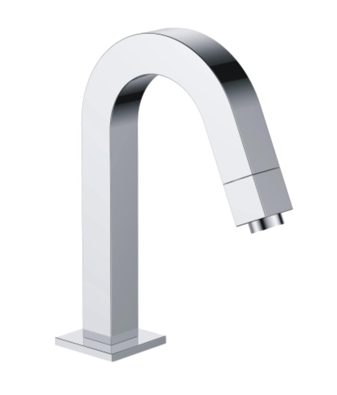 Best Design Orca toiletkraan vierkant chroom