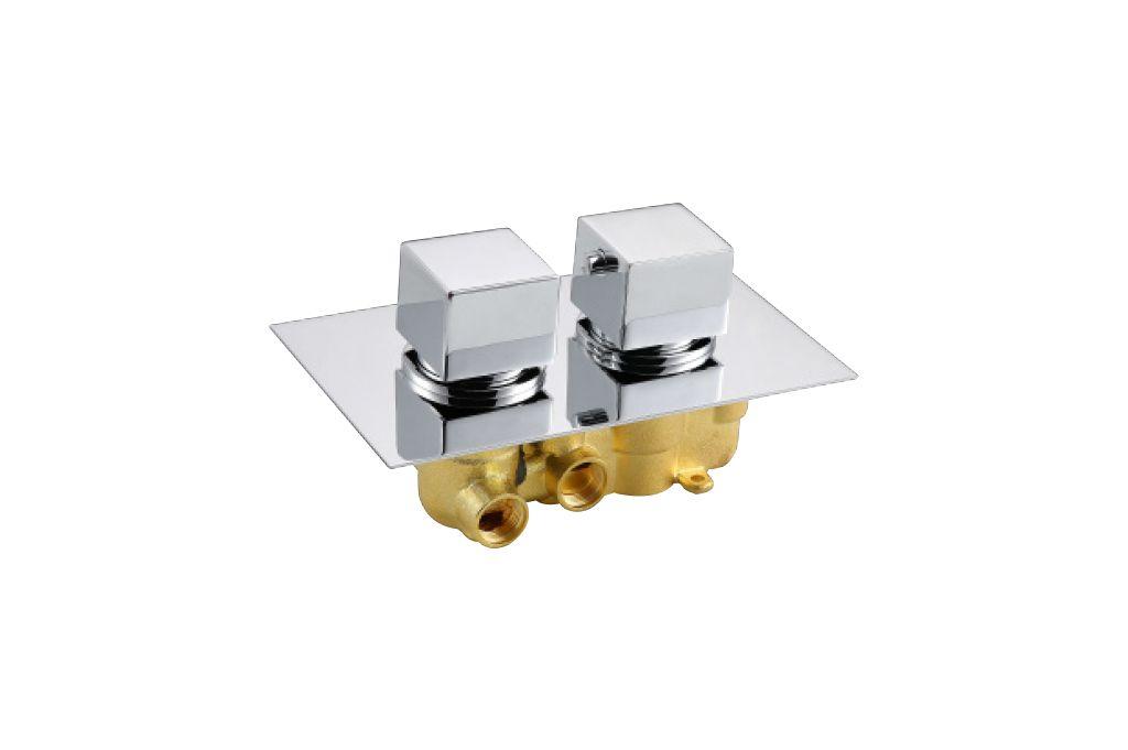 Best Design Quadro inbouwthermostaat 2-weg