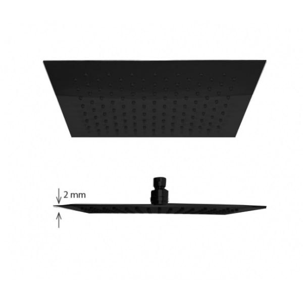 Best-Design RVS Nero Brause 300 regendouche vierkant mat zwart kopen doe je het voordeligst hier