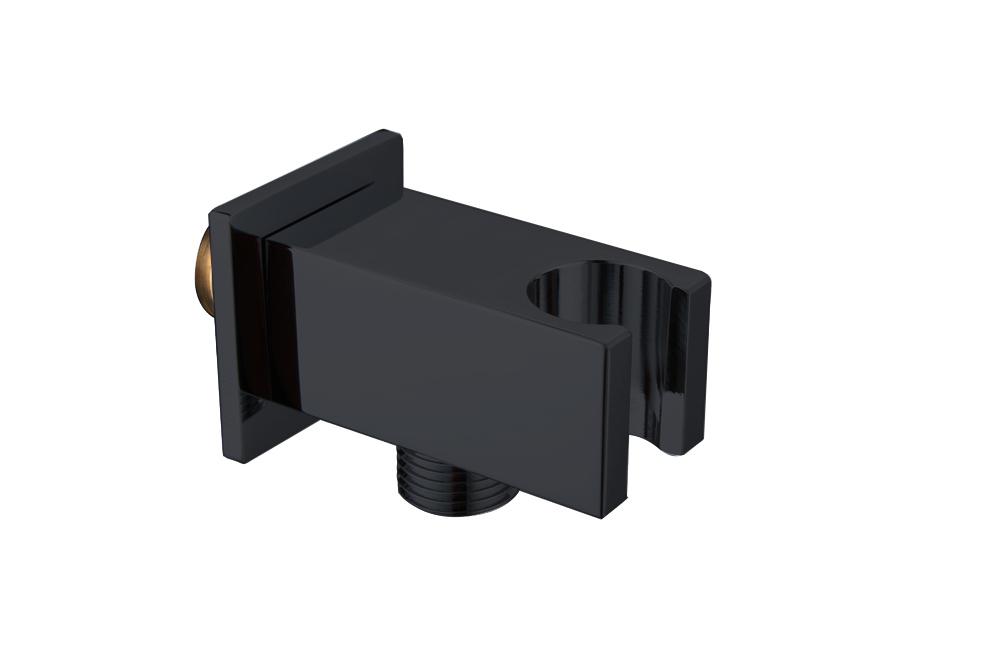 Best-Design RVS Nero-Stool opsteek muuraansluiting mat zwart