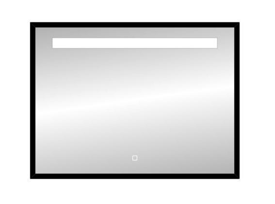 Best Design Black Miracle LED spiegel mat zwart 80x60cm