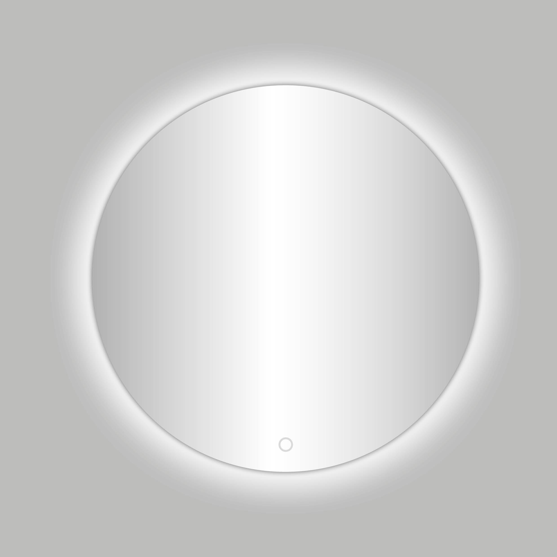 Badkamerspiegel Ingiro Rond 60x60cm Geintegreerde LED verlichting Touch Schakelaar