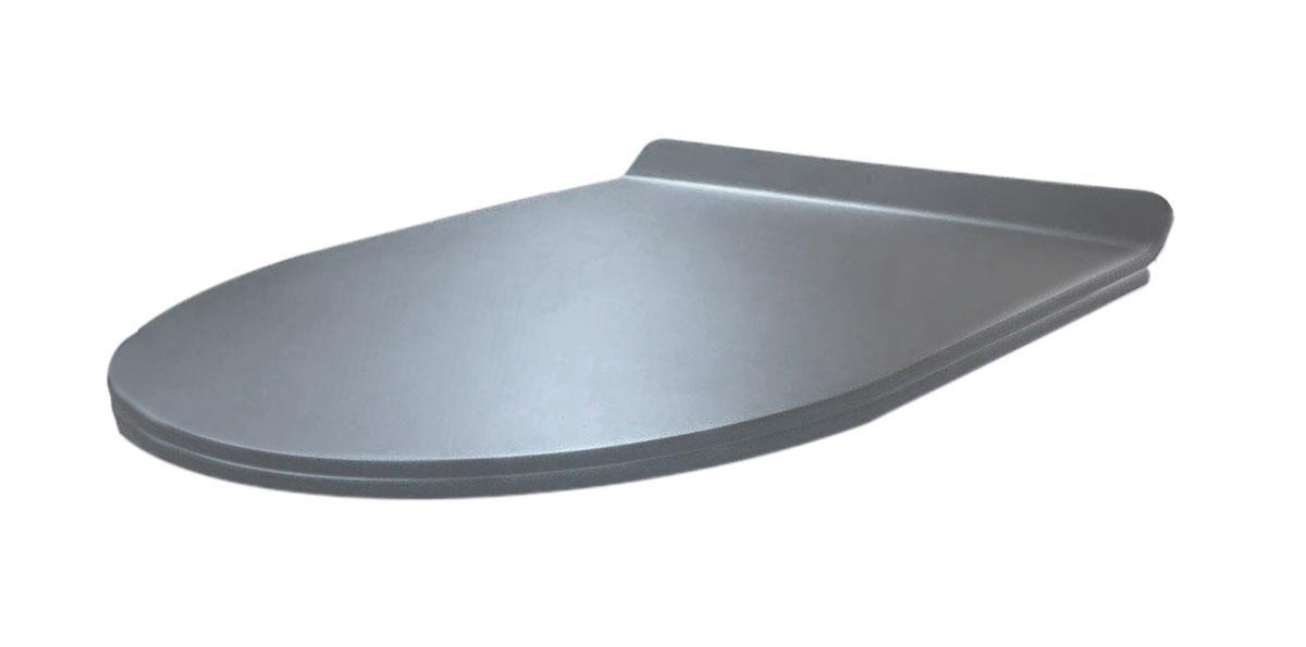 Best Design Morrano softclose toiletzitting mat grijs