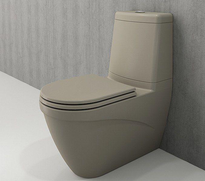 Bocchi Taormina Arch staande toiletpot mat kashmir met reservoir