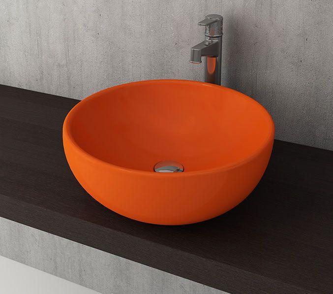 Bocchi Venezia waskom 45cm glans oranje