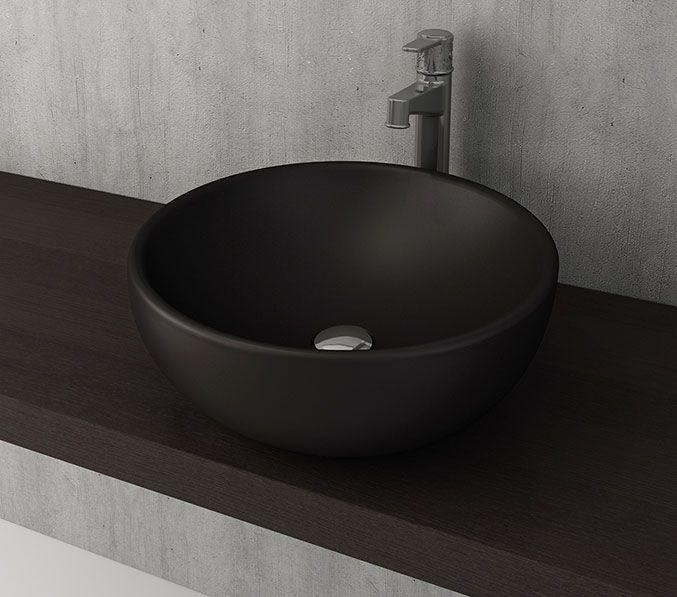Bocchi Venezia waskom 45cm mat zwart