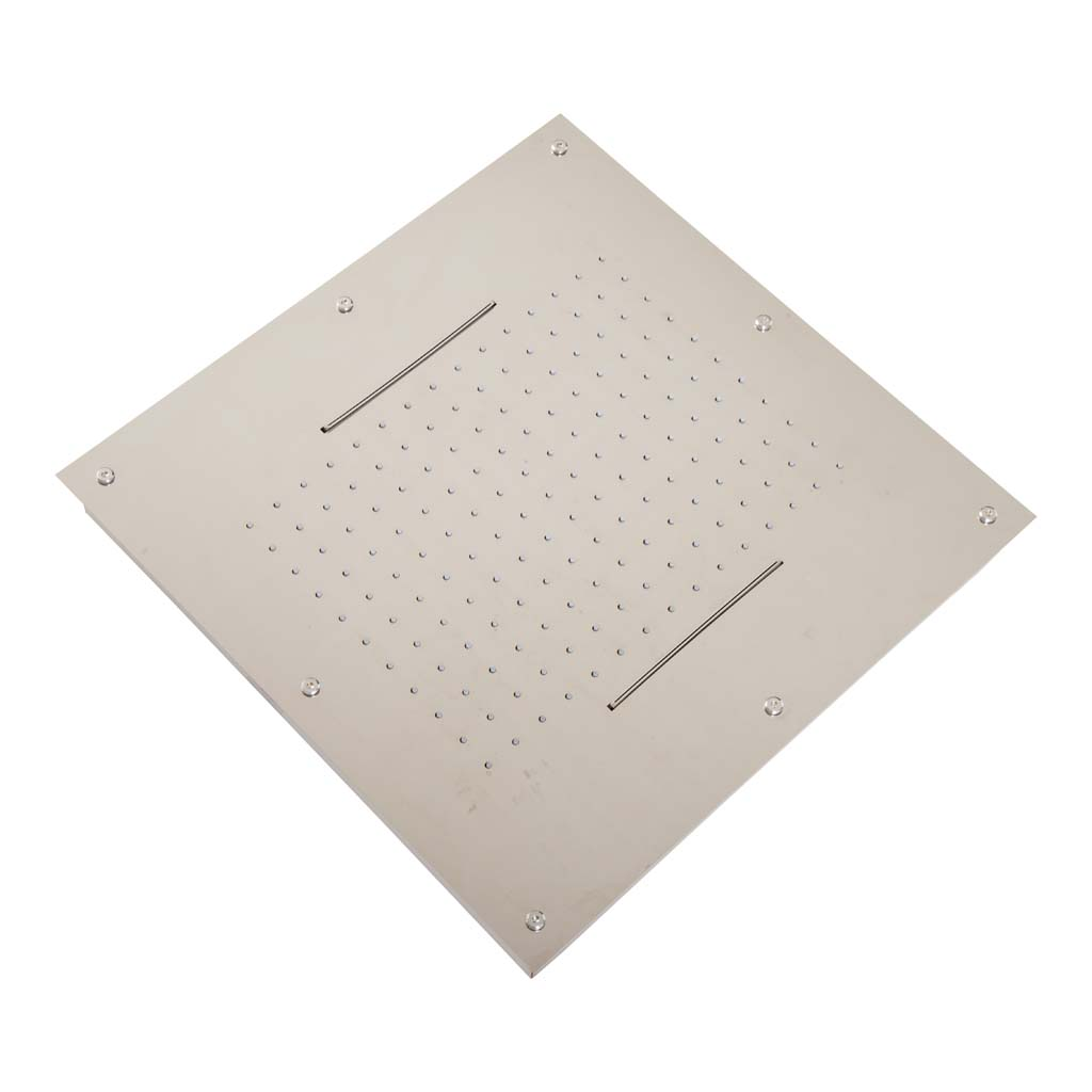 Brauer ColdStart Square Plafonddouche inbouw 500*500mm ; 2 functies