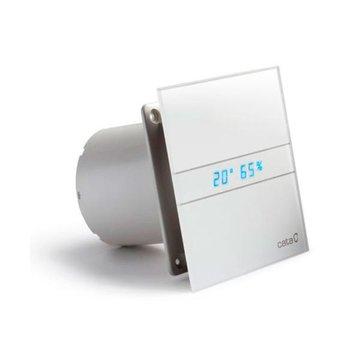 Cata E-120 GTH Axial badkamer ventilator met timer & vochtsensor 6W-11W Ø120mm wit