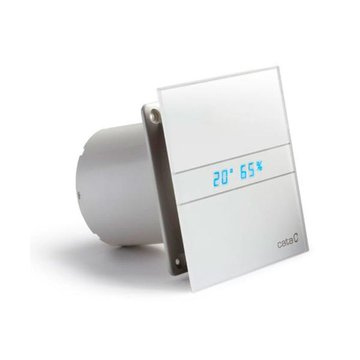 Cata E-150 GTH Axial badkamer ventilator met timer & vochtsensor 10W-19W Ø150mm wit