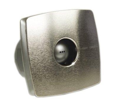 Cata X-mart 10H Axial badkamer ventilator met timer en vochtsensor 15W Ø100mm RVS