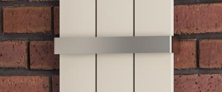 Eastbrook Charlton radiator handdoekbeugel Chroom 37,5cm