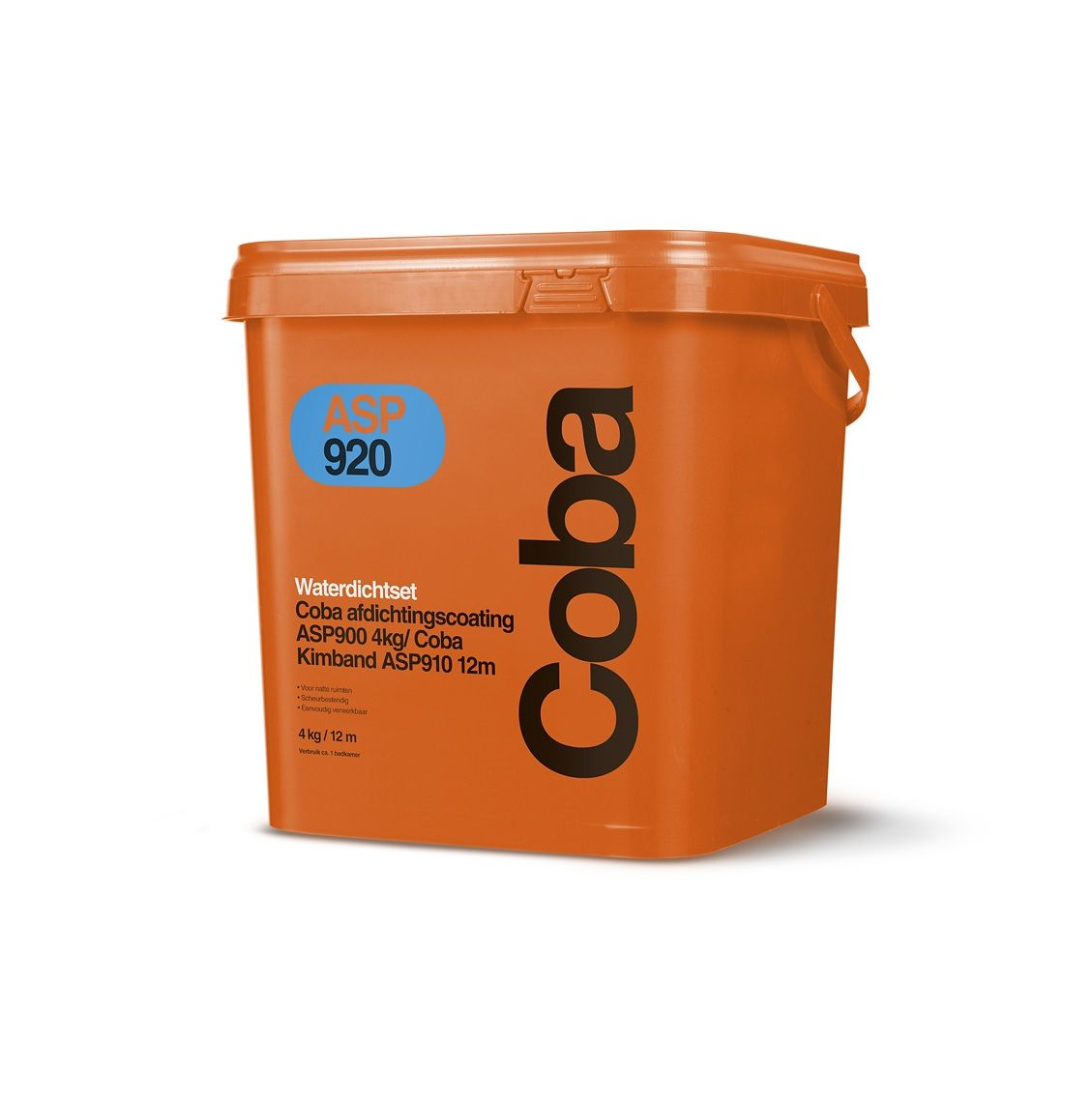 Coba ASP920 afdichtcoating incl. kimband. 4kg pasta en 12m1 kimband.