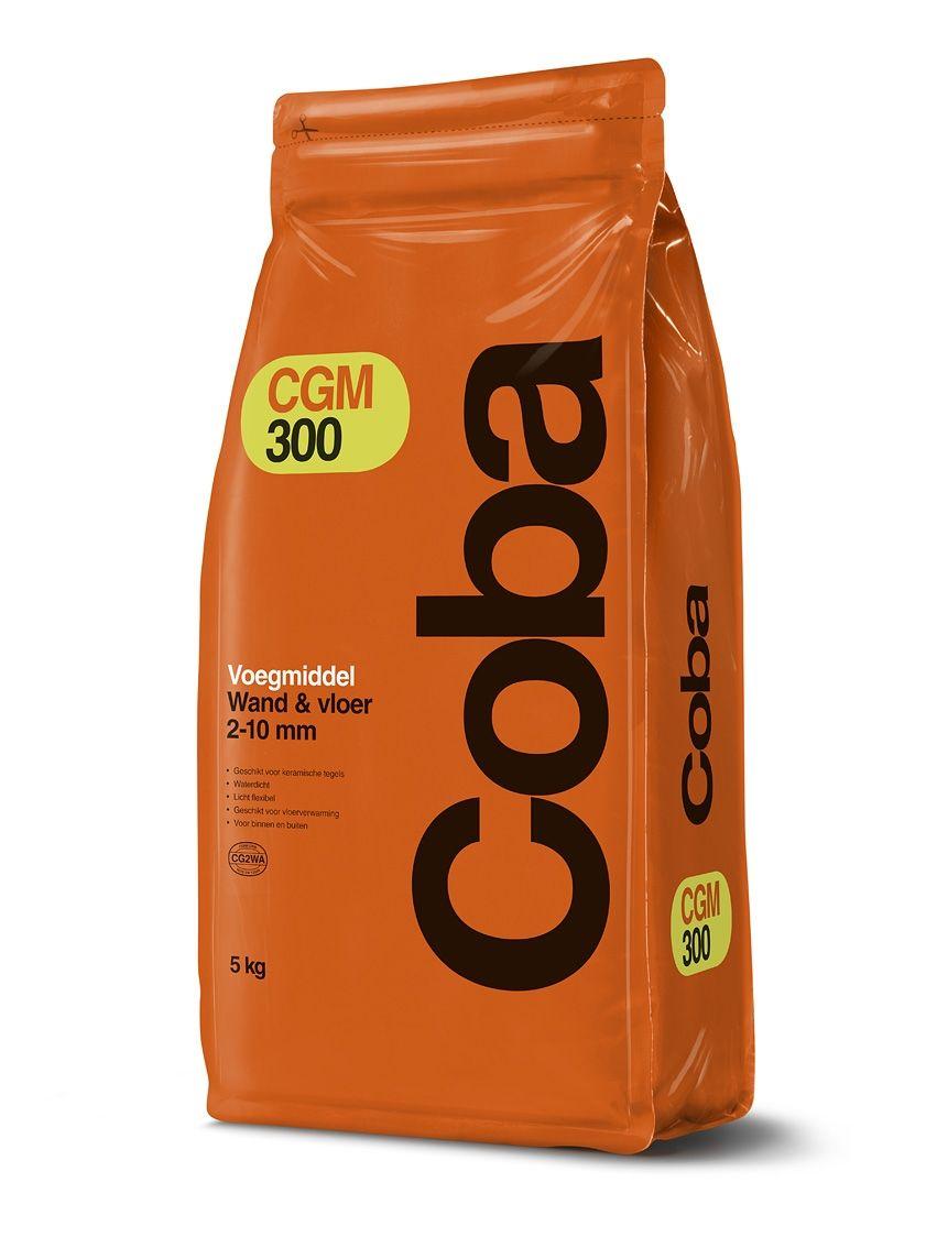Coba CGM300 voegmiddel zilvergrijs a 5kg