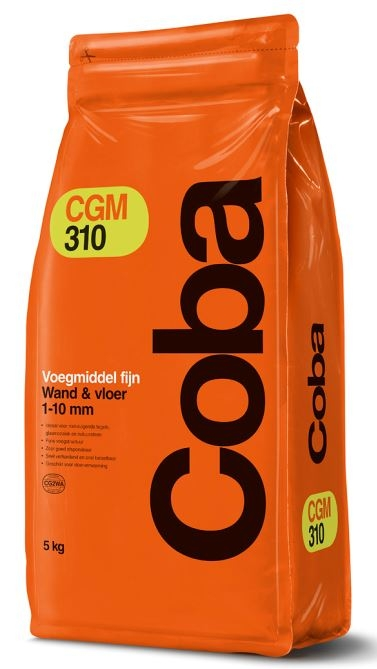 Coba CGM310 voegmiddel antraciet 5kg