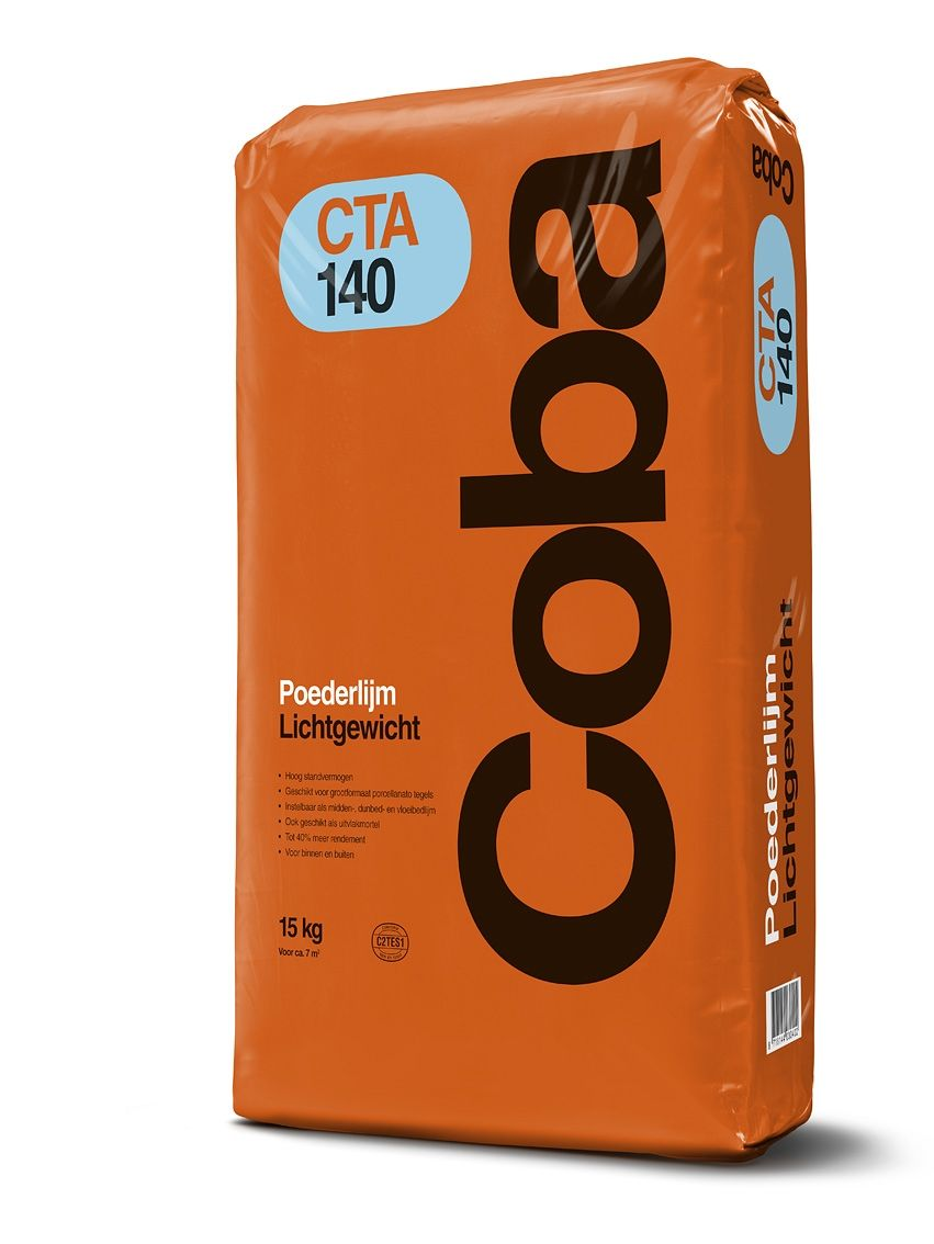 Coba CTA140 poederlijm a 15kg lichtgewicht.