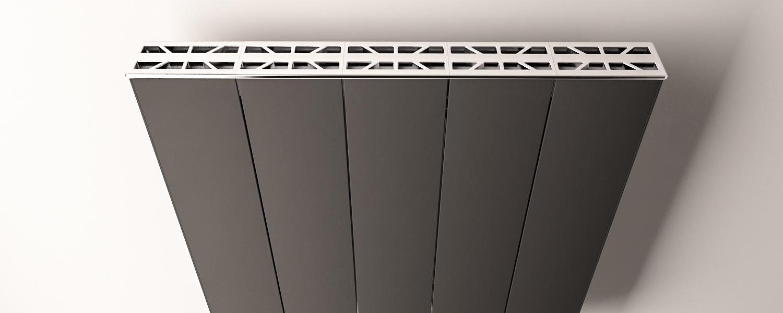 Eastbrook Vesima radiatorrooster Chroom 50,3cm