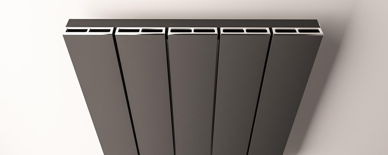 Eastbrook Charlton radiatorrooster Chroom 47cm