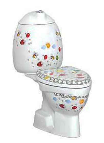 Creavit Child duoblok wit met AO aansluiting