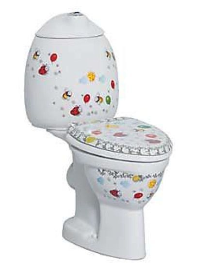 Creavit Child duoblok wit met PK aansluiting