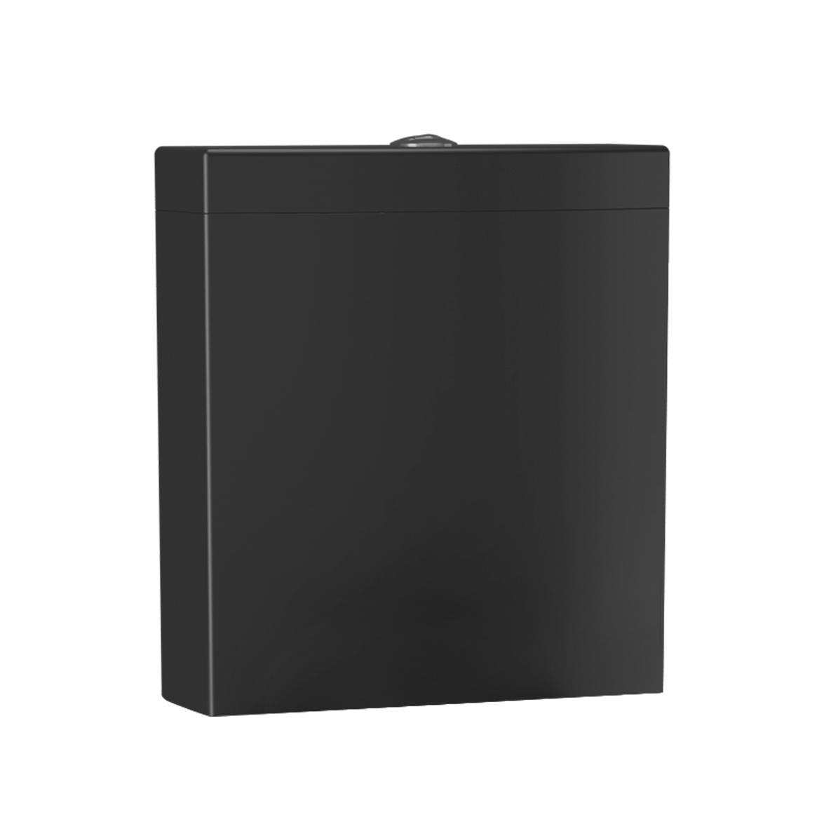 Creavit Lara toiletreservoir mat zwart