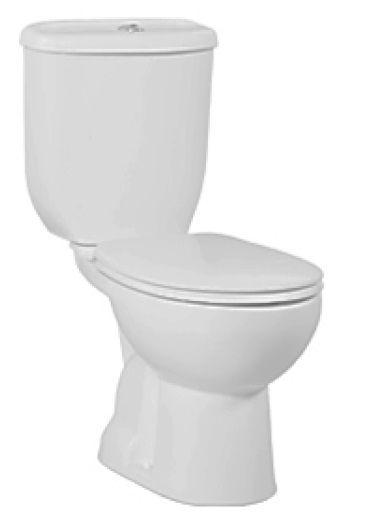Creavit Twelve duoblok toilet zonder zitting AO
