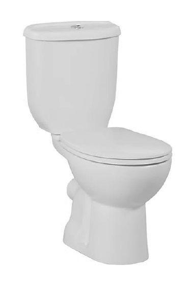 Creavit Twelve duoblok toilet zonder zitting PK