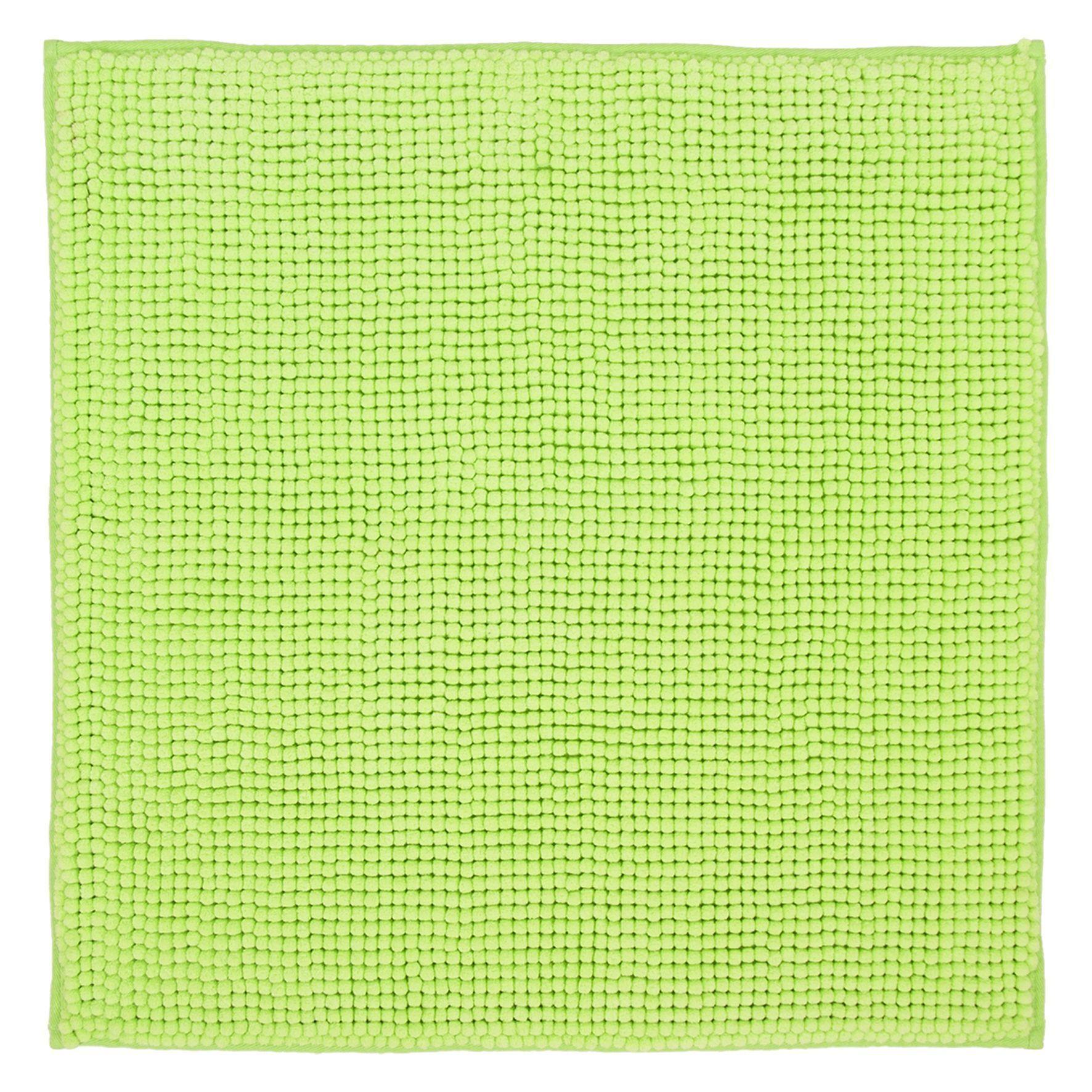 Differnz Candore badmat 60x60 lime groen