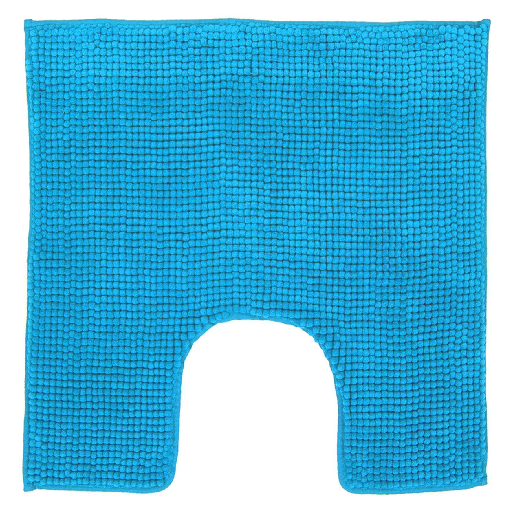 Differnz Candore wc mat 60x60 azuur