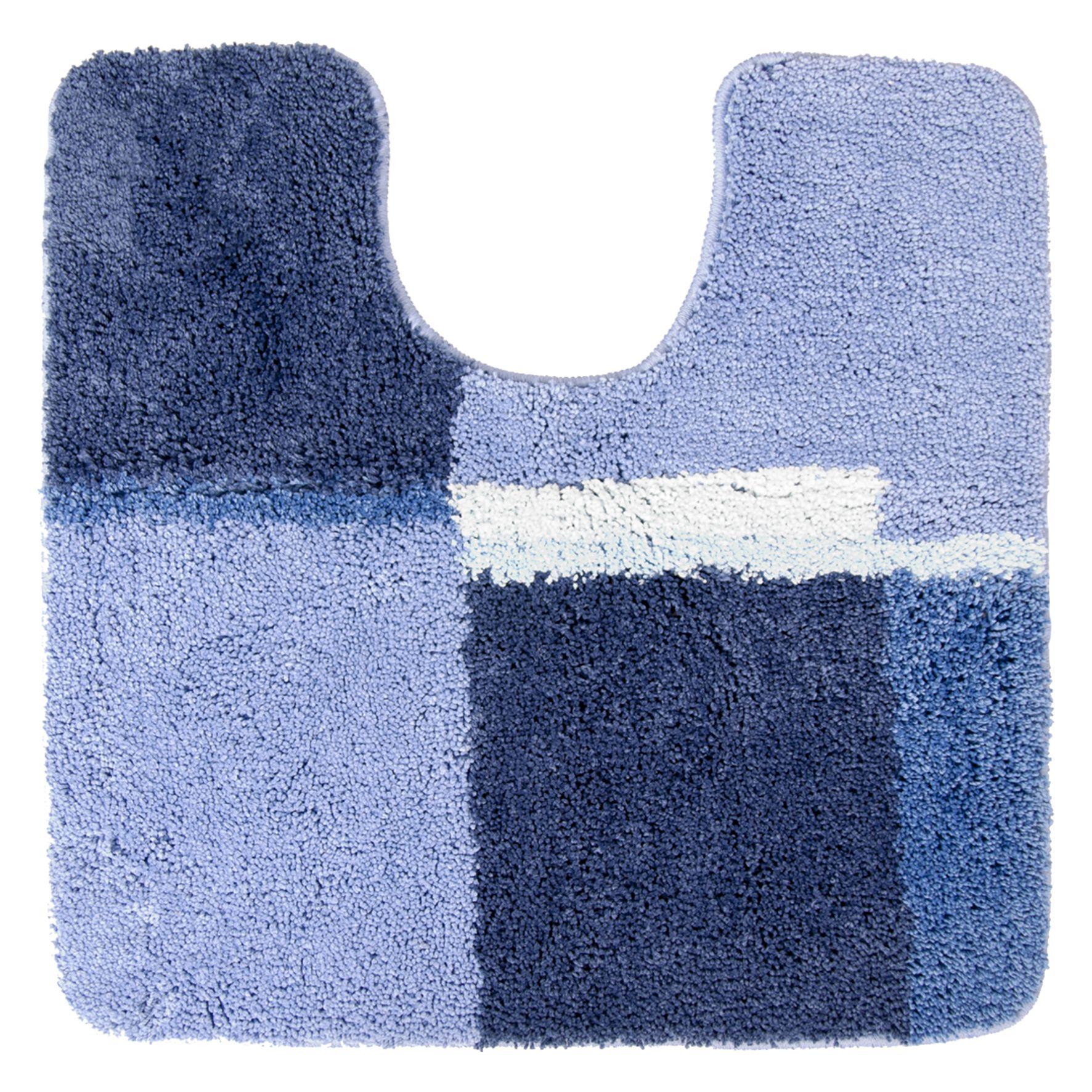 Differnz Cubes wc mat 60x60 blauw