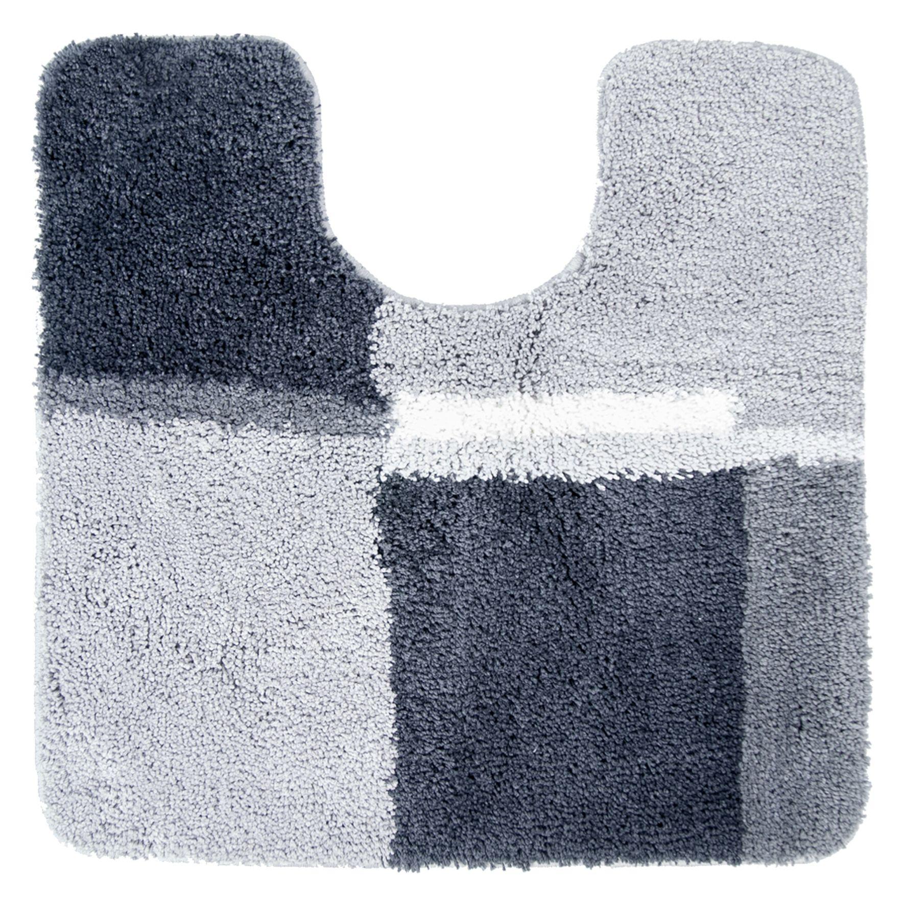 Differnz Cubes wc mat 60x60 grijs